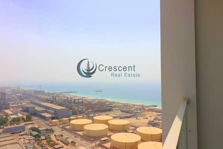 2 Bedroom Apartment for Rent in Dubai Marina, Dubai - Exclusive 2 Bed  Higher Floor Partial Sea View