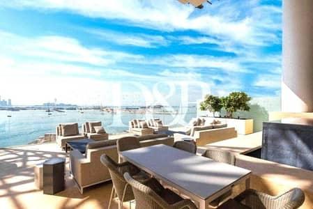 شقة 3 غرف نوم للبيع في نخلة جميرا، دبي - Double Height Living Area | Real Listing Details