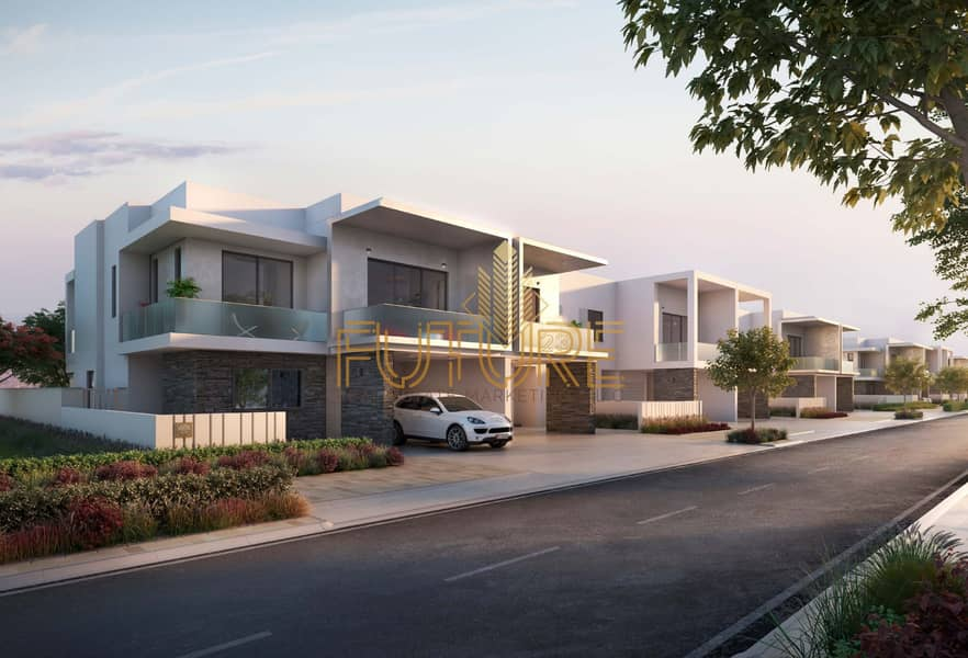 13 Villa in Yas Acres owns 3 rooms and a lounge directly from the developer