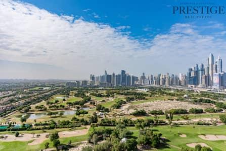 شقة 2 غرفة نوم للايجار في ذا فيوز، دبي - Full Golf Course View | Fairways North | Chiller Free