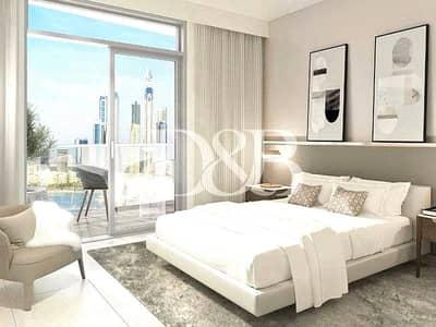 فیلا 3 غرف نوم للبيع في دبي هاربور، دبي - Duplex Podium Villa   Directly on the Beach