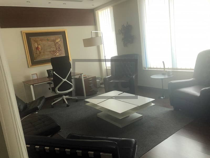 2 Fully Furnished | Luxurious Office | Silicon Oasis | Palace Tower