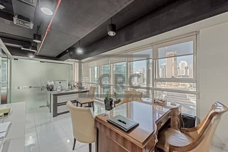 Office for Sale in Jumeirah Lake Towers (JLT), Dubai - Fitted and Furnished office | GoldCrest Executive