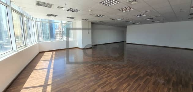Large Wooden Floors Fitted Office Open-plan Ready For Sale