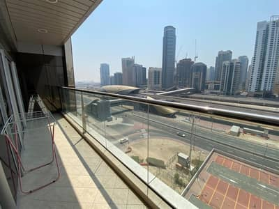 1 Bedroom Apartment for Rent in Jumeirah Lake Towers (JLT), Dubai - Near Metro/Tram | With Balcony | Sheik Zayed View