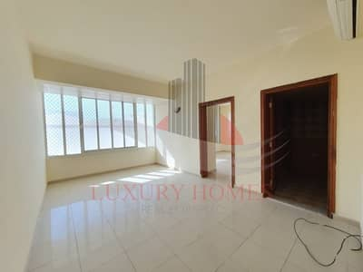 1 Bedroom Apartment for Rent in Al Khabisi, Al Ain - Spacious Bright Near Hazza Stadium with Free Water