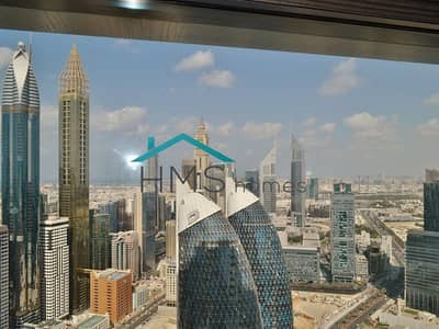 1 Bedroom Flat for Rent in DIFC, Dubai - Bright & Spacious | Downtown View | Glass Wall