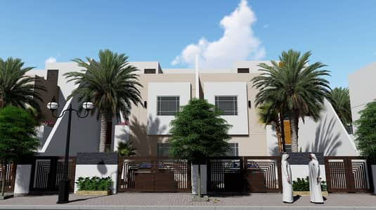 Plot for Sale in Al Zahia, Ajman - Residential lands - fully prepared infrastructure - freehold for all nationalities - installments over two years - exempt from all fees