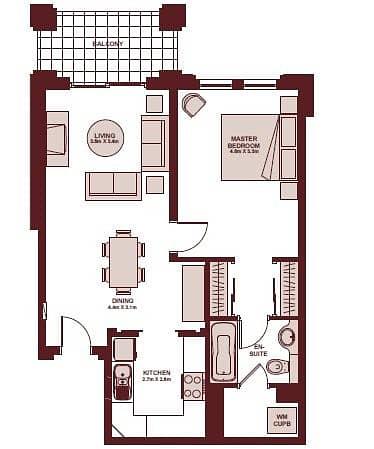 10 One Bedroom | Community Views | Tenanted