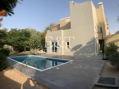 فیلا 4 غرف نوم للايجار في مدينة دبي الرياضية، دبي - Pool with Chiller | Huge Corner Plot | Cls to Park