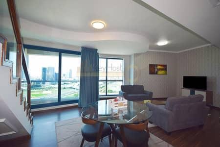 2 Bedroom Flat for Rent in Jumeirah Lake Towers (JLT), Dubai - Special Offer   Stunning 2BR Duplex JLT   Bills Included