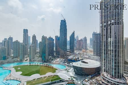 2 Bedroom Flat for Rent in Downtown Dubai, Dubai - 2 PLUS STUDY | FURNITURE IS OPTIONAL | LAKE & OPERA