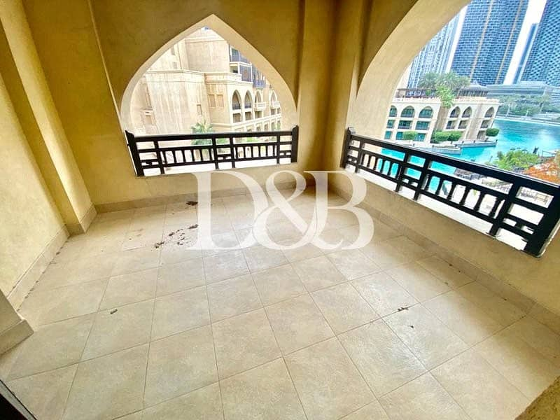 10 3 Bedrooms | Maids Room | Fountain View