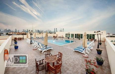 شقة 2 غرفة نوم للايجار في جميرا، دبي - شقة في لا بلاج (الشاطئ) جميرا 2 جميرا 2 غرف 95000 درهم - 3885378