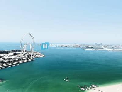 2 Bedroom Apartment for Rent in Jumeirah Beach Residence (JBR), Dubai - Full sea view I Fully furnished I Neat and tidy
