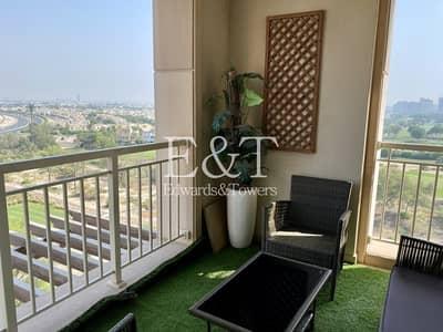 فلیٹ 2 غرفة نوم للايجار في ذا فيوز، دبي - Unique Golf Course View 2 BR  l Getting Vacant