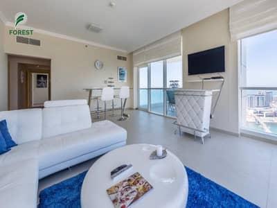 فلیٹ 2 غرفة نوم للايجار في جميرا بيتش ريزيدنس، دبي - Stunning  Layout | Dubai Eye View| Fully Furnished