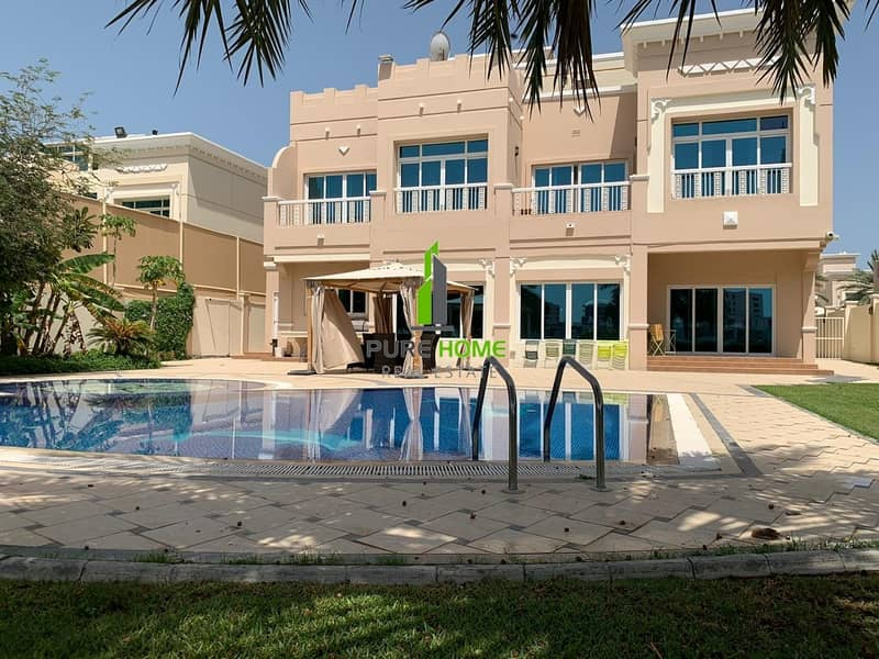 VIP Villa of 4 Bedrooms in the Most Luxury Area in Abu Dhabi