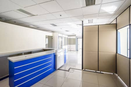 For rent I Fitted office on low floor at EBC