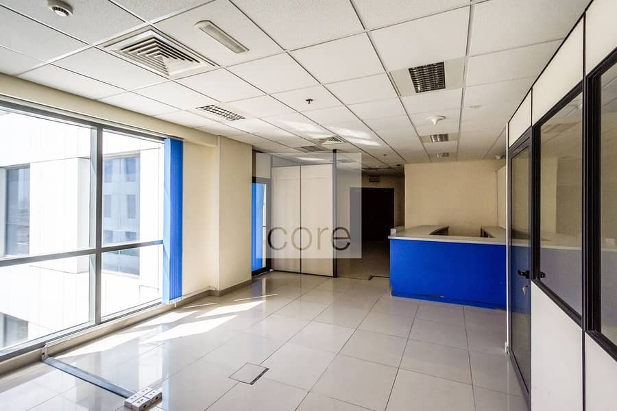 2 For rent I Fitted office on low floor at EBC