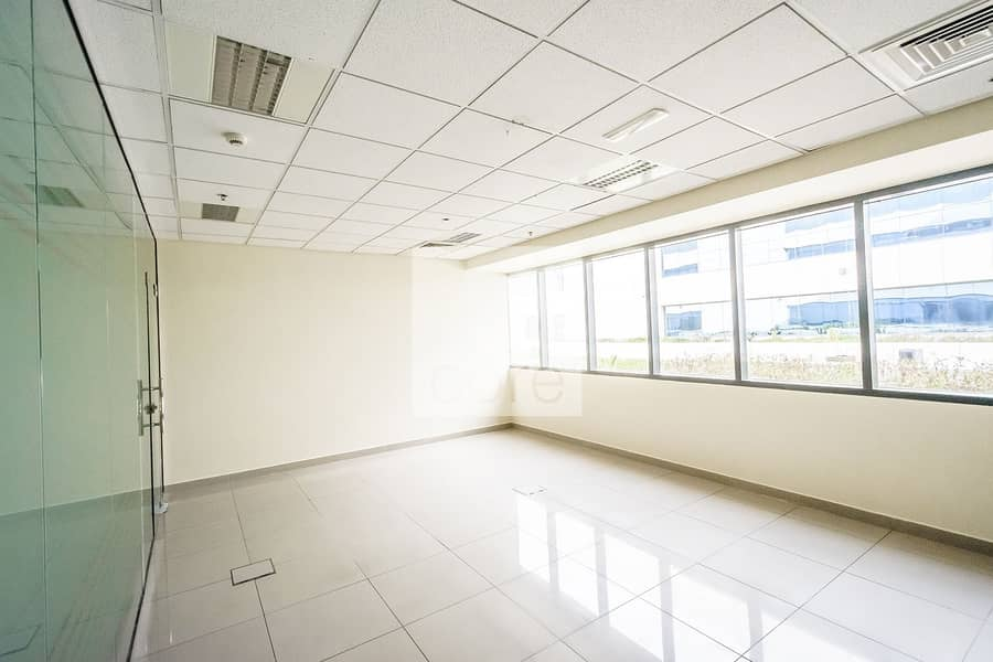 2 Mid floor fitted with partitions office