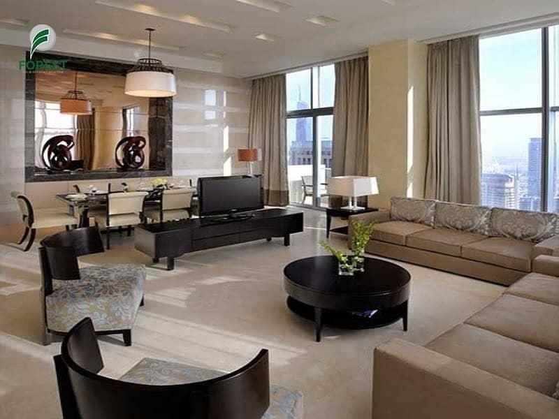 Stunning 2BR Hotel Apt | Marina View | Furnished