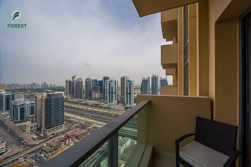 10 Stunning 2BR Hotel Apt | Marina View | Furnished