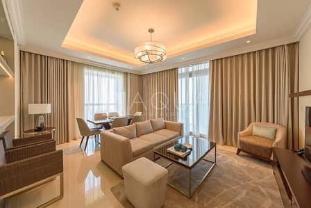 فلیٹ 2 غرفة نوم للبيع في وسط مدينة دبي، دبي - Burj Khalifa and Dubai Fountain View | Furnished