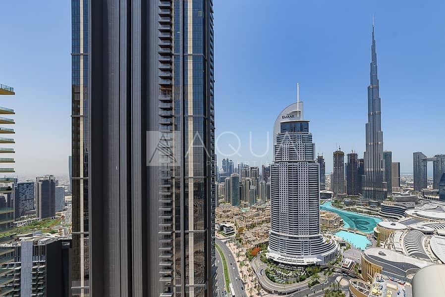 15 Burj Khalifa and Dubai Fountain View   Furnished