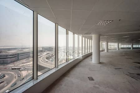 Floor for Rent in Al Garhoud, Dubai - Fitted Full Floor Office   Prime Location