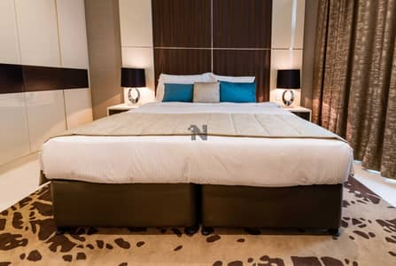 2 Bedroom Flat for Rent in Business Bay, Dubai - Spacious 2BHK | Alluringly Furnished | Luxurious | Panoramic View