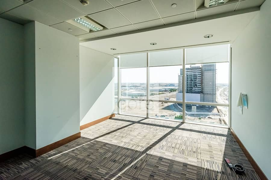 High floor fitted office in The Galleries