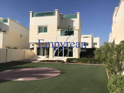 4 Bedroom Villa for Sale in Jumeirah Village Circle (JVC), Dubai - LARGE PLOT | 4 BED | 2 EN-SUITE | INNER CIRCLE ON THE PARK  | LANDSCAPED VILLA