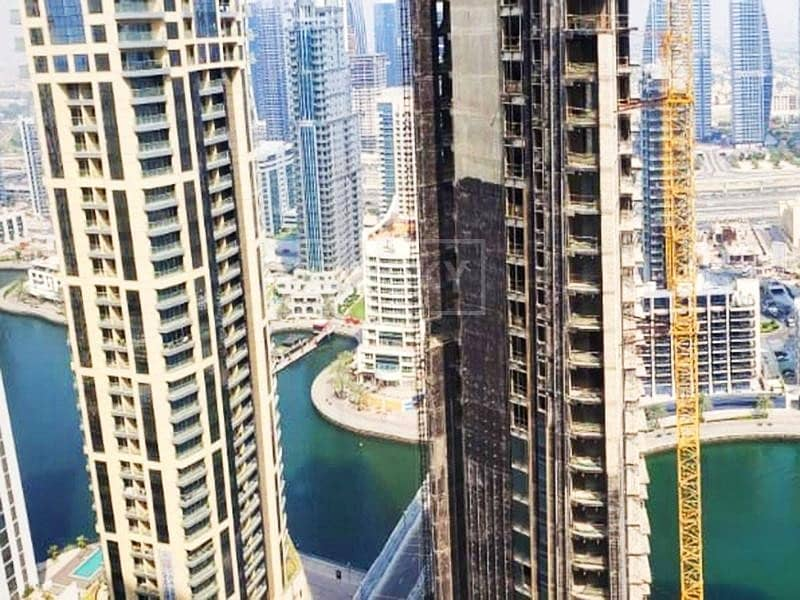 Furnished 4-Bed with Sea and Marina View in JBR