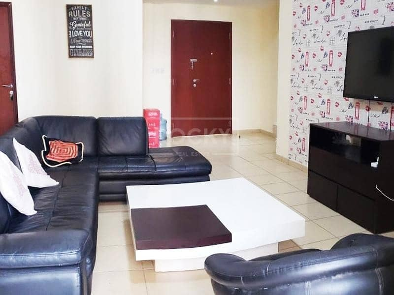2 Furnished 4-Bed with Sea and Marina View in JBR