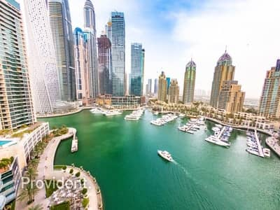 3 Bedroom Flat for Rent in Dubai Marina, Dubai - Panoramic Marina View | Ready to Move-In