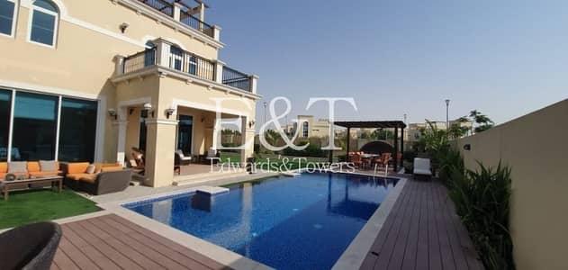 4 Bedroom Villa for Rent in Jumeirah Park, Dubai - Rare To Market | Stunning Upgraded Garden| Pool|JP