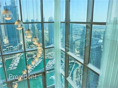 3 Bedroom Penthouse for Sale in Dubai Marina, Dubai - Exquisite Design|Premium finishes|Stunning Views