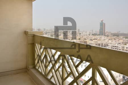1 Bedroom Flat for Rent in Abu Shagara, Sharjah - 1BHK -With Balcony - No commission +Parking -