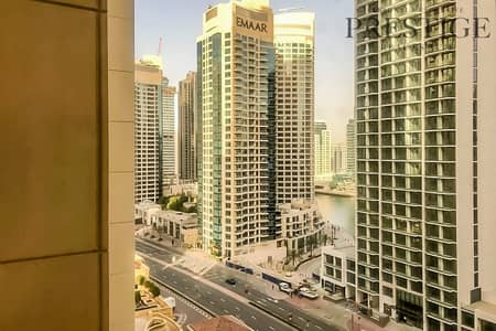 3 Bedroom Flat for Sale in Jumeirah Beach Residence (JBR), Dubai - 3Bedroom Apartment | Unfurnished | Marina and Community View