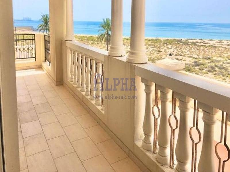 2 Captivating Sea View | 2 Bedroom | Unfurnished
