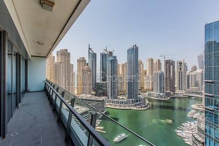 2 Bedroom Apartment for Sale in Dubai Marina, Dubai - Spectacular 2 BR   Marina View   Spacious Layout