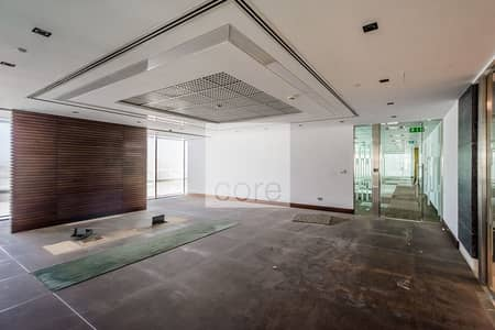 Office for Rent in Downtown Jebel Ali, Dubai - Fitted office on high floor | The Galleries 4