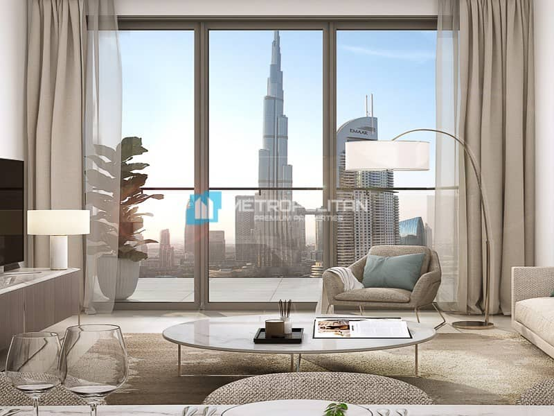Resale | Below OP|Full Burj Khalifa view| High flr