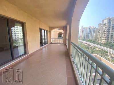 شقة 3 غرف نوم للايجار في نخلة جميرا، دبي - Exclusive | B Type | Park View | Video Tour Available