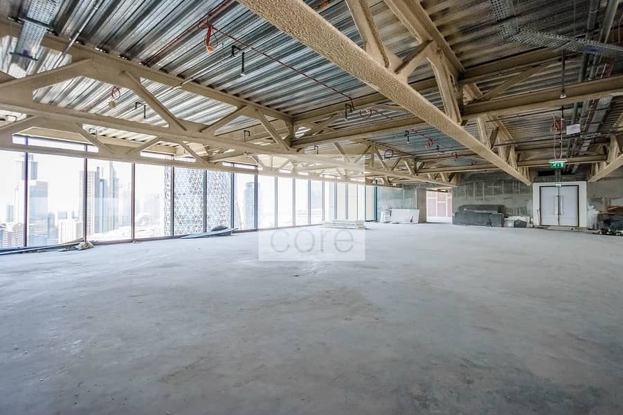 2 Available Half Floor | Shell and Core Office