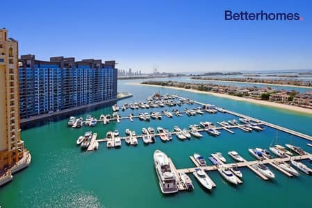 3 Bedroom Flat for Rent in Palm Jumeirah, Dubai - *Video|Marina View|Mid Floor|Terrace|
