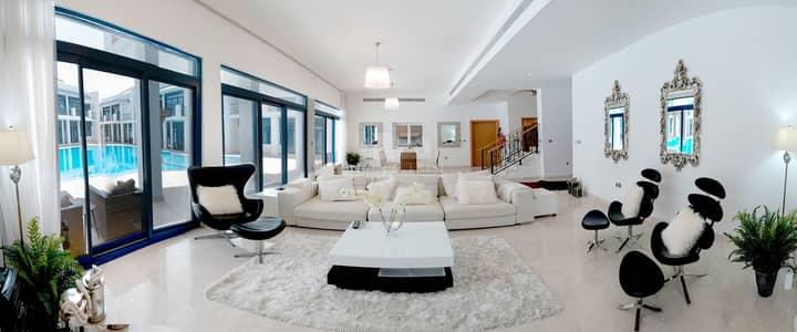 فیلا 4 غرف نوم للايجار في نخلة جميرا، دبي - 4 Bed Fully Furnished Villa | Pool view | Compound