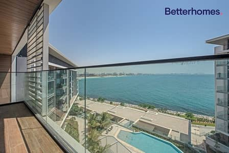 2 Bedroom Flat for Rent in Bluewaters Island, Dubai - Unfurnished | Full sea view | Easy viewing