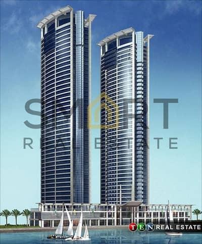 Office for Sale in Dafan Al Nakheel, Ras Al Khaimah - Mangrove | Shell & Core Office | City & Sea Views